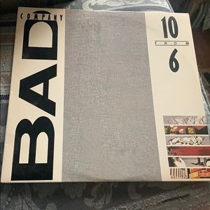 10 from 6 by Bad Company Vinyl Album